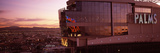 Hotel Lit Up at Dusk, Palms Casino Resort, Las Vegas, Nevada, USA Photographic Print by  Panoramic Images