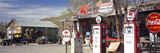 Store with a Gas Station on the Roadside, Route 66, Hackenberry, Arizona, USA Photographic Print by  Panoramic Images
