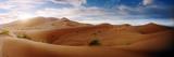Sahara Desert Landscape at Sunset, Morocco Fotografisk tryk af Panoramic Images,