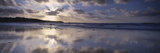 Reflection of Clouds on the Beach, Fistral Beach, Cornwall, England Photographic Print by Panoramic Images