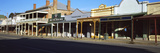 Stores Along the Road, Beechworth, Victoria, Australia Photographic Print by  Panoramic Images
