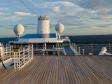 Cruise Ship Deck, Bruges, West Flanders, Belgium Photographic Print by Panoramic Images 