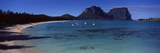 Coastline, Lagoon Beach, Mt Gower, Lord Howe Island, New South Wales, Australia Photographic Print by  Panoramic Images
