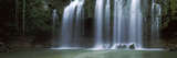 Water Falling from Cliff, Cortez Falls, Guanacaste, Costa Rica Fotografisk tryk af Panoramic Images,