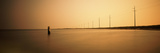 Wooden Post in the Atlantic Ocean, Sandy Bay, Cape Hatteras National Seashore, North Carolina, USA Photographic Print by  Panoramic Images