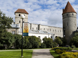 Medieval Wall, Tallinn, Estonia Photographic Print by Panoramic Images