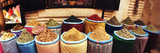 Spice Market Inside the Medina in Marrakesh, Morocco Fotografisk tryk af Panoramic Images