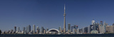 Skylines in a City, Cn Tower, Toronto, Ontario, Canada Photographic Print by  Panoramic Images