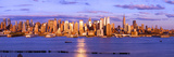 Skyscrapers in a City, Manhattan, New York City, New York State, USA Photographic Print by  Panoramic Images