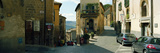 Cars Parked in Front of Houses in a Street, Orvieto, Umbria, Italy Photographic Print by  Panoramic Images