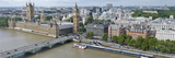 High Angle View of a Cityscape, Houses of Parliament, Thames River, City of Westminster, London,... Photographic Print by Panoramic Images 