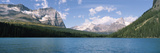 Lake with Mountain Range in the Background, Yoho National Park, British Columbia, Canada Photographic Print by  Panoramic Images