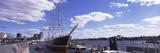 Boats at a Harbor, Landungsbrucken, Hamburg Harbour, Elbe River, Hamburg, Germany Photographic Print by  Panoramic Images