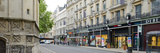 Stores Along a Road, Oxford, Oxfordshire, England Photographic Print by  Panoramic Images