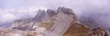 Rock Formations, Karwendel Mountains, Mittenwald, Garmisch-Partenkirchen, Upper Bavaria, Bavaria... Photographic Print by  Panoramic Images