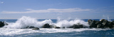 Waves Breaking on Rocks, Chiavari, Liguria, Italy Photographic Print by  Panoramic Images