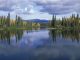 Dragon Lake Yukon Canada Photographic Print by  Panoramic Images
