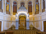 Interiors of a Synagogue, Grand Choral Synagogue, St. Petersburg, Russia Photographic Print by  Panoramic Images