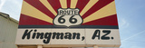 Low Angle View of a Road Sign, Route 66, Kingman, Mohave County, Arizona, USA Photographic Print by  Panoramic Images