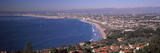 Aerial View of a City at Coast, Santa Monica Beach, Beverly Hills, Los Angeles County, Californi... Photographic Print by  Panoramic Images