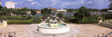 Fountain in a Garden, Hollis Garden, Lake Mirror, Lakeland, Florida, USA Photographic Print by Panoramic Images