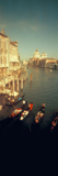 High Angle View of Gondolas in a Canal, Grand Canal, Venice, Italy Photographic Print by  Panoramic Images