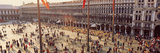 People in a Town Square, St. Mark's Square, Venice, Veneto, Italy Photographic Print by  Panoramic Images