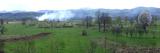 Agricultural Landscape, Budesti Josani, Maramures, Transylvania, Romania Photographic Print by  Panoramic Images