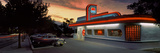 Cars Parked Outside a Restaurant, Route 66, Albuquerque, New Mexico, USA Photographic Print by  Panoramic Images