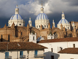 Low Angle View of a Cathedral, Immaculate Conception Cathedral, Cuenca, Azuay Province, Ecuador Photographic Print by  Panoramic Images