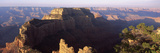 Rock Formations Viewed from Cape Royal, Wotan's Throne, Grand Canyon National Park, Arizona, USA Photographic Print by  Panoramic Images