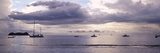 Boats in an Ocean, Playa Hermosa, Costa Rica Photographic Print by  Panoramic Images