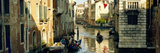 Boats in a Canal, Castello, Venice, Veneto, Italy Photographic Print by  Panoramic Images