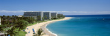 Hotels on the Beach, Kaanapali Beach, Maui, Hawaii, USA Photographie par Panoramic Images