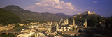 High Angle View of a City, Salzburg, Austria Photographic Print by  Panoramic Images