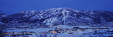 Tourists at a Ski Resort, Mt Werner, Steamboat Springs, Routt County, Colorado, USA Photographic Print by  Panoramic Images