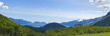 Bay from the Lost Lake Trail, Resurrection Bay, Kenai Mountains, Kenai Peninsula, Seward, Alaska... Photographic Print by  Panoramic Images