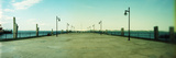 Lamppost at a Dock, Staten Island Dock, Staten Island, New York City, New York State, USA Photographic Print by  Panoramic Images