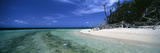 Beach, Green Island, Queensland, Australia Photographic Print by Panoramic Images