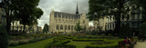 Garden in a Church, Eglise Notre-Dame Du Sablon, Brussels, Belgium Photographic Print by Panoramic Images 