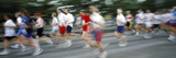 Runners in a Marathon, Stockholm, Sweden Photographic Print by  Panoramic Images