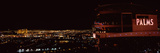 Hotel Lit Up at Night, Palms Casino Resort, Las Vegas, Nevada, USA Photographic Print by  Panoramic Images