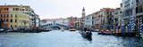 Buildings at the Waterfront, Rialto Bridge, Grand Canal, Venice, Veneto, Italy Photographic Print by Panoramic Images