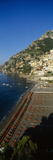 High Angle View of a Beach, Positano, Amalfi, Campania, Italy Photographic Print by  Panoramic Images