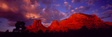 Rocks at Sunset Sedona AZ USA Photographic Print by  Panoramic Images