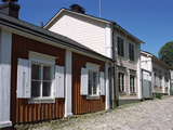 Wooden Houses, Vuorikatu, Porvoo, Finland Photographic Print by Panoramic Images
