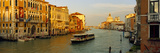 Vaporetto Water Taxi in a Canal, Grand Canal, Venice, Veneto, Italy Photographic Print by  Panoramic Images