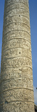 Low Angle View of a Column, Trajan's Column, Trajan's Forum, Rome, Italy Photographic Print by  Panoramic Images