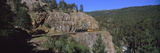 Train Moving on a Railroad Track, Durango and Silverton Narrow Gauge Railroad, Silverton, San Ju... Photographic Print by  Panoramic Images