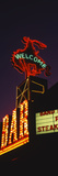 Welcome Sign of a Bar, Million Dollar Cowboy Bar, Jackson, Jackson Hole, Teton County, Wyoming, USA Photographic Print by  Panoramic Images